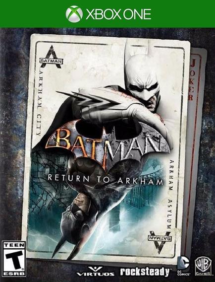 Batman Return To Arkham Xbox One - 25 Dígitos (envio Flash)