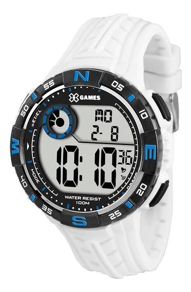Relógio X-games Masculino Xmppd324 Bxbx Branco Orient