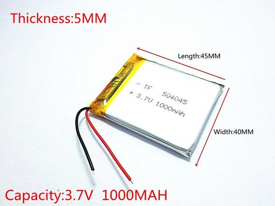 Bateria Gps Navcity Way 45 De 4.3 Polegadas C/1000mah 3,7v