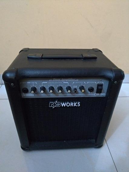 Amplificador De Contra Baixo Ac Works Cb - 50 Com Distorção