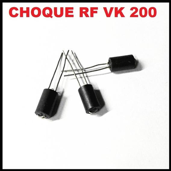 Choke Vk200 Com Ferrite Rf 3 Voltas 50 Peças
