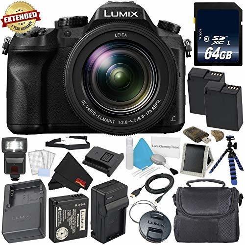 Panasonic Lumix Dmc Fz Point Shoot Camara Lente Leica