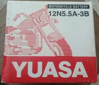 Bateria Yuasa 12n5.5a-3b 12v, 5.5ah Taiwan Nueva