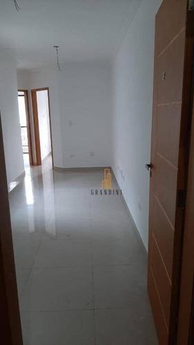 Cobertura À Venda, 90 M² Por R$ 305.000,00 - Parque Novo Oratório - Santo André/sp - Co0113
