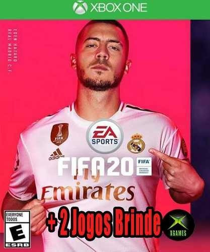 Fifa 20 Xbox One Mídia Digital + 2 Jogos Grátis