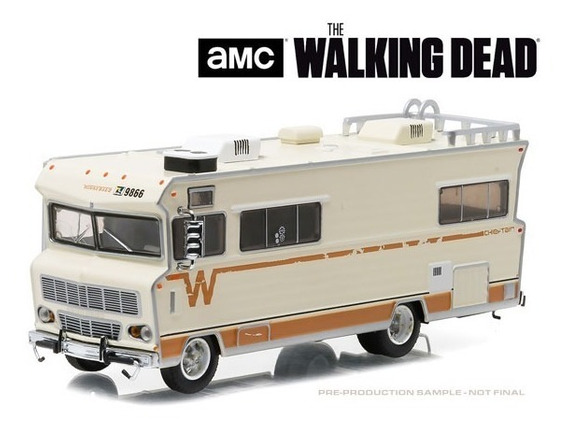 Greenlight 1:64 The Walking Dead 1973 Winnebago Chieftain