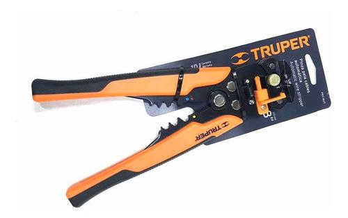 Imagen 1 de 3 de Alicate Pela Cables  Automático 8 P Profesional Truper
