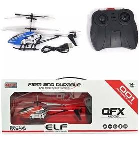 Helicóptero Qfx 001 3.5ch Gyro Rc Infravermelho Damadores