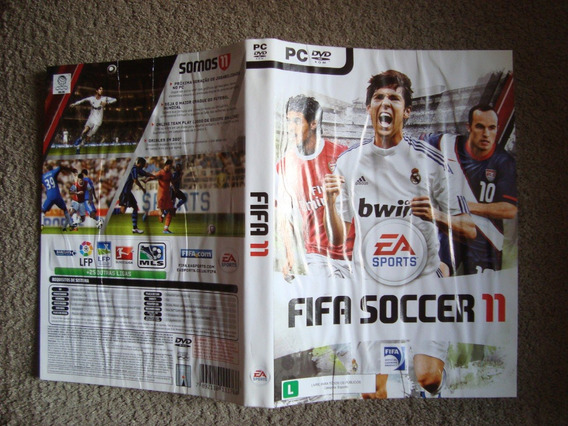 Game Xbox 360 - Fifa Soccer 11 - Original