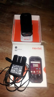 Motorola I867 Nextel Na Caixa Pouco Uso (particular)