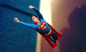 Superman Poster Christopher Reeve
