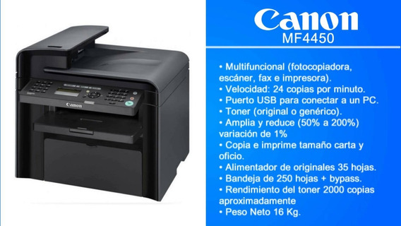 Impresora Multi-funcional Mf4450