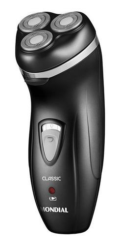 Barbeador Elétrico Mondial Classic Nbe-01 Preto 110v/220v