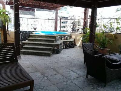 Citymax Renta Amplio Pent House Amueblado En Ens. Paraíso