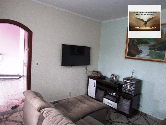 Casa Com 03 Dormitórios ( 02 Suítes) , 02 Vagas De Garagem Residencial À Venda, Vila Mazzei, Santo André. - Ca0059