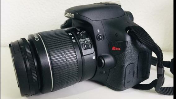 Canon T3i Com Lente Ef-s 18-55mm.