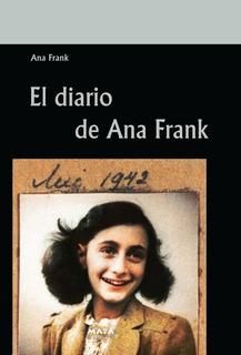 Libro. El Diario De Ana Frank. Editorial Maya