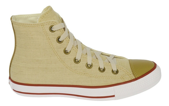 Tênis Converse Chuck Taylor All Star Hi Natural