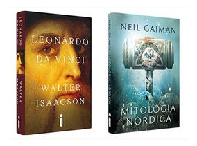 Livro Leonardo Da Vinci + Mitologia Nórdica - Edições Luxo