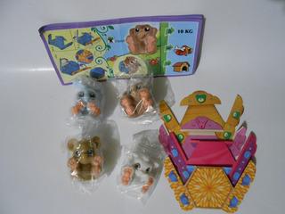 Serie Completa Youmitik Animales Kinder Sorpresa