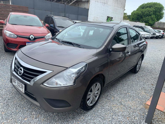 Nissan Versa 1.6 Advance At Sedán 2014 Pto/financio!!