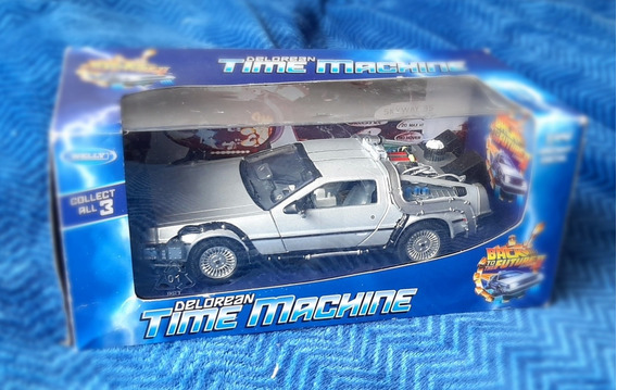 Delorean Time Machine 1:24 Back To The Future Ii