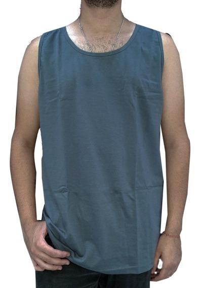 Musculosas Basicas Lisas 100% Jersey 20/1 Talles Xs Al Xl