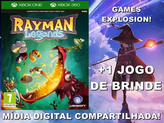 Rayman Legends Xbox 360/ One +1 Jogo - Mídia Digital