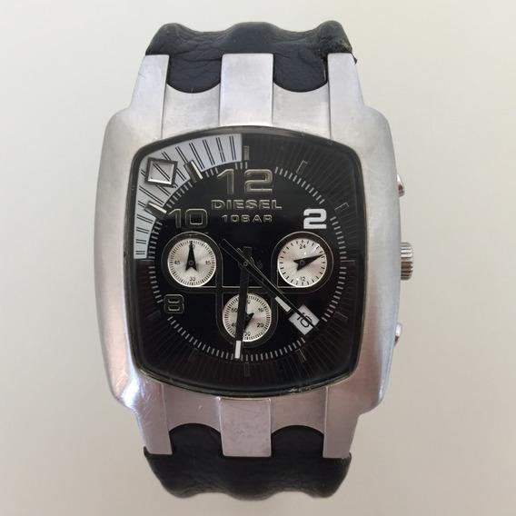Relógio Masculino Diesel Cronógrafo Original Dz4119 Preto