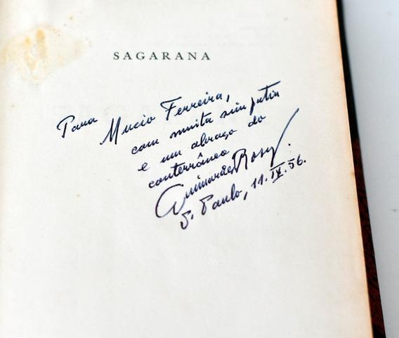 Livro Sagarana De João Guimarães Rosa Autografado Pelo Autor