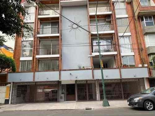 Departamento En Renta En La Calle Anaxágoras, Colonia Narvarte