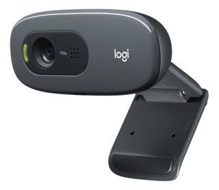 Webcam Logitech C270 720p 30fps Black Usb 1.5m 960-000694