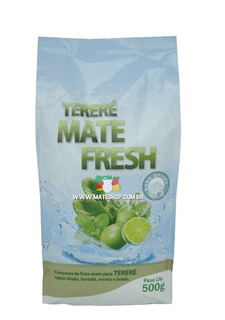 Tereré Mate Fresh Menta, Boldo, Limão E Hortelã - 10 Pacotes