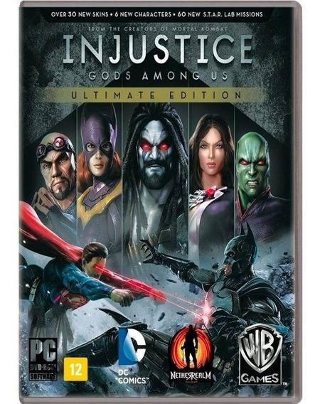 Jogo Injustice Ultimate Edition Computador Lacrado Original