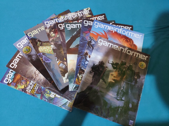 Revista Gameinformer Lacrado
