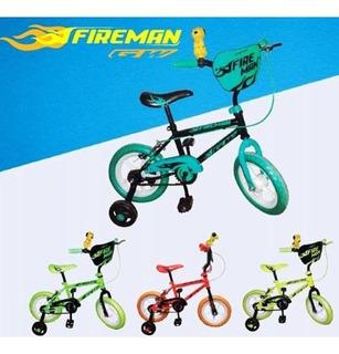 Bicicletas Para Niño Gw Fireman