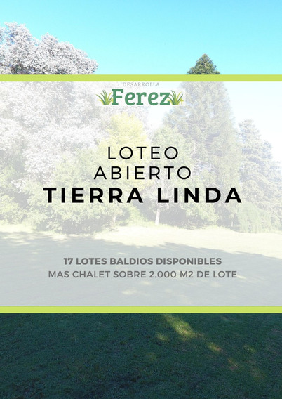 Loteo Tierra Linda , Del Viso
