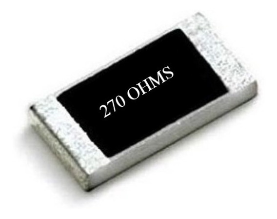 270 Ohms ( Kit C/ 25) Resistor Smd 0805 (2,0mm X 1,2mm)