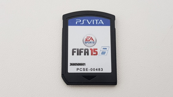 Jogo Fifa 15 - Ps Vita - Original Sem Capa