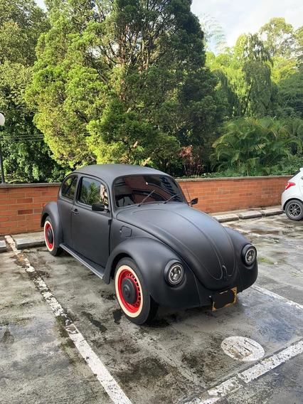 Volkswagen Escarabajo 1997 Motor 1.6 Negro Mate