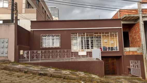 Casa Com 4 Dormitórios À Venda, 186 M² Por R$ 300.000,00 - Centro - Ponta Grossa/pr - Ca0407