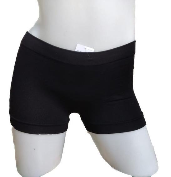 Short Boxer Femenino Microfibra S/costura Colegiales Envios
