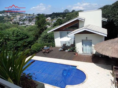 Casa Com 5 Dormitórios À Venda, 402 M² Por R$ 1.650.000,00 - Condominio Porto Atibaia - Atibaia/sp - Ca4621