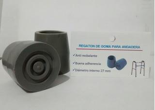 Regatón Para Andadera De Aluminio 27mm (2 Pares)