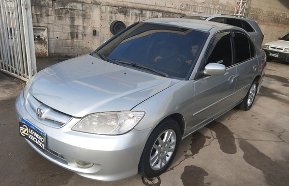 Honda Civic 2005 1.7 Lxl 4p