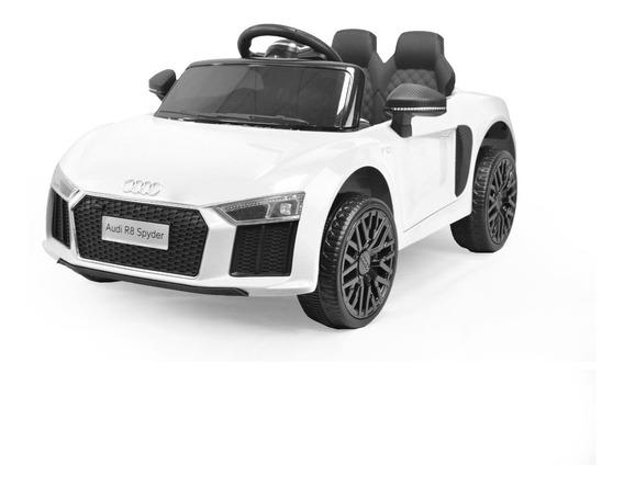 Auto A Batería Audi R8 Spyder 12v Usb Luz Envió Gratis