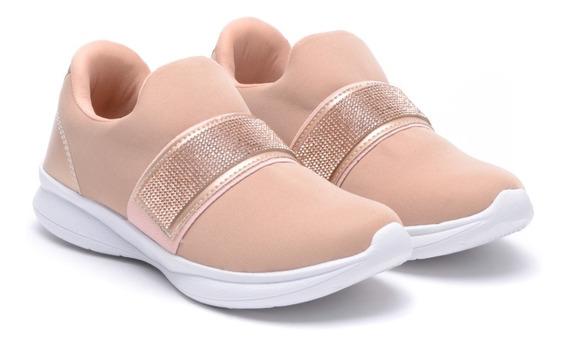 Zapatillas Deportivas Mujer Urbanas Lycra Sin Cordones Heben