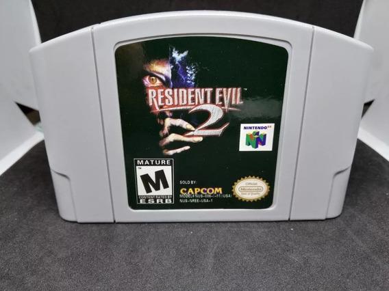 Fita / Cartucho Resident Evil 2 Nintendo 64 N64 Salvando