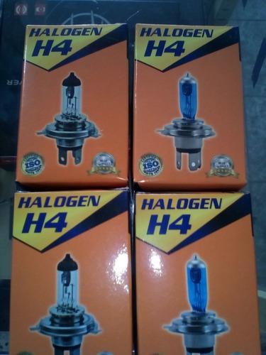 Bombillos H3, H4, H7, 9004, 9007 De Halógeno.