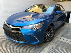 Toyota Camry Se Full 2016 Azul 2.4l 4 Cilindros Americano Su